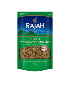 Rajah Dhaniya Coriander Seed (Resealable Pouch) | Buy online from The Asian Cookshop